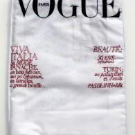 Hikaru Miyakawa, Vogue (1), 2007, tissu, fil coton, 28,5x22 cm