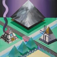 Marcel Tasler, o.T., 2011, Acryl, 60x60 cm