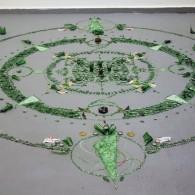 Hikaru Miyakawa, o. T., Mandala I, exclusiv for Galerie Oel-Früh, 2011